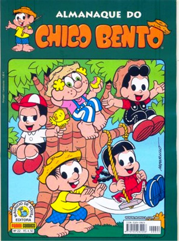 ALMANAQUE DO CHICO BENTO nº022 - EDITORA PANINI