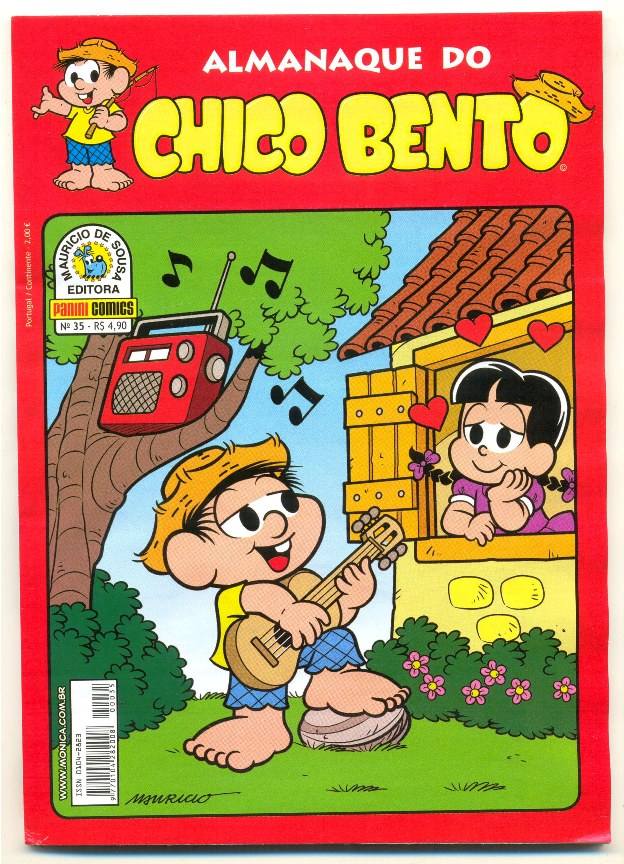 ALMANAQUE DO CHICO BENTO nº035 - EDITORA PANINI