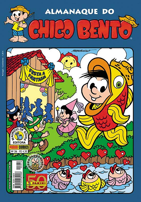 ALMANAQUE DO CHICO BENTO nº026 - EDITORA PANINI