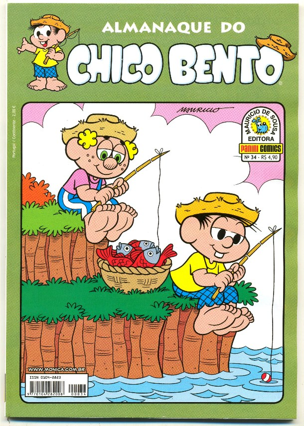 ALMANAQUE DO CHICO BENTO nº034 - EDITORA PANINI