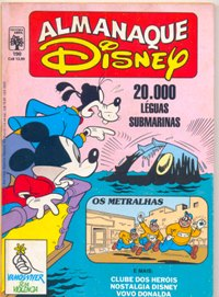 ALMANAQUE DISNEY nº190 - EDITORA ABRIL
