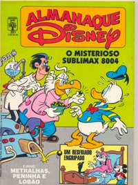 ALMANAQUE DISNEY nº201 - EDITORA ABRIL