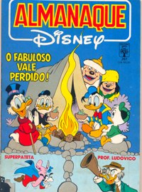 ALMANAQUE DISNEY nº207 - EDITORA ABRIL