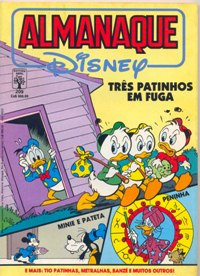 ALMANAQUE DISNEY nº209 - EDITORA ABRIL