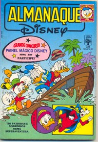ALMANAQUE DISNEY nº223 - EDITORA ABRIL