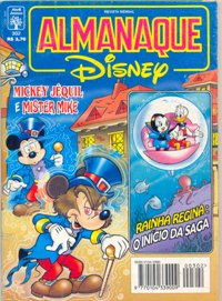 ALMANAQUE DISNEY nº302 - EDITORA ABRIL