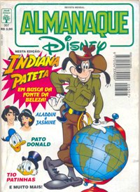 ALMANAQUE DISNEY nº307 - EDITORA ABRIL