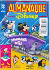 ALMANAQUE DISNEY nº311 - EDITORA ABRIL