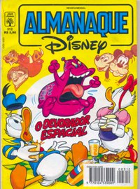 ALMANAQUE DISNEY nº312 - EDITORA ABRIL