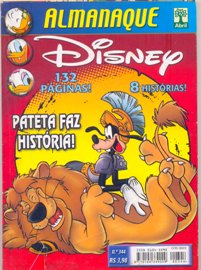 ALMANAQUE DISNEY nº344 - EDITORA ABRIL
