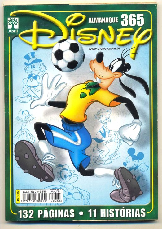 ALMANAQUE DISNEY nº365 - EDITORA ABRIL