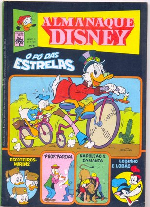 ALMANAQUE DISNEY nº108 - EDITORA ABRIL