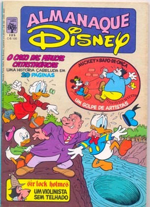 ALMANAQUE DISNEY nº125 - EDITORA ABRIL