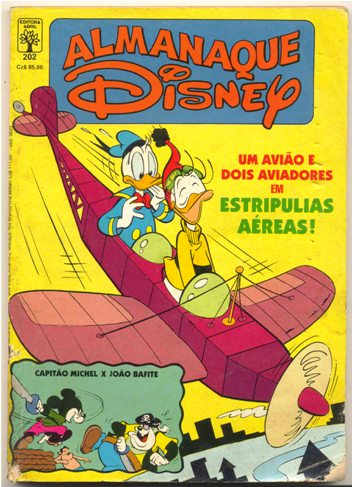 ALMANAQUE DISNEY nº202 - EDITORA ABRIL