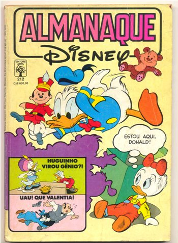ALMANAQUE DISNEY nº212 - EDITORA ABRIL