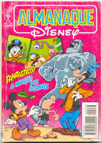 ALMANAQUE DISNEY nº276 - EDITORA ABRIL