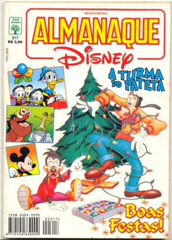 ALMANAQUE DISNEY nº317 - EDITORA ABRIL