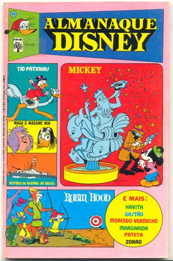 ALMANAQUE DISNEY nº043 - EDITORA ABRIL