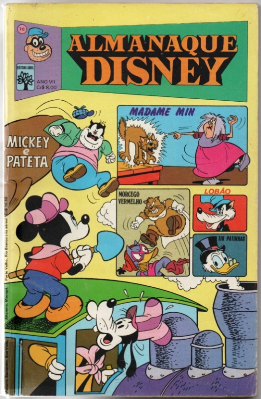 ALMANAQUE DISNEY nº070 - EDITORA ABRIL