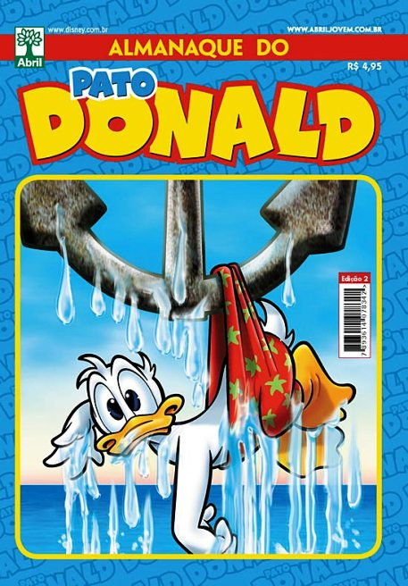 ALMANAQUE DO PATO DONALD - 2ª SÉRIE  nº02 - ED. ABRIL