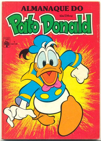 ALMANAQUE DO PATO DONALD - 1ª SÉRIE  nº01 - ED. ABRIL