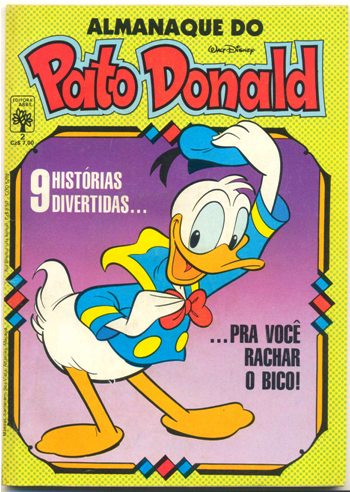 ALMANAQUE DO PATO DONALD - 1ª SÉRIE  nº02 - ED. ABRIL