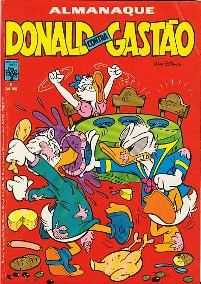 ALMANAQUE DO DONALD CONTRA GASTÃO nº01