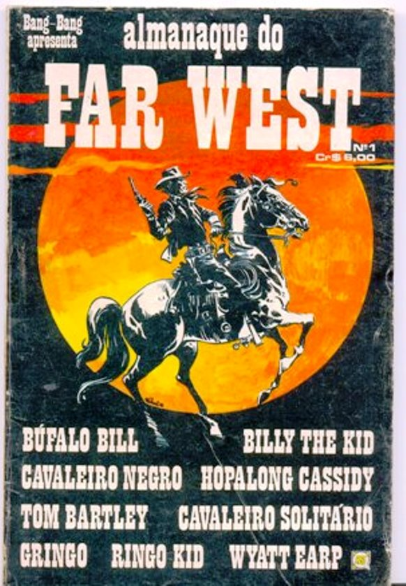ALMANAQUE DO FAR WEST nº01 - EDITORA RGE