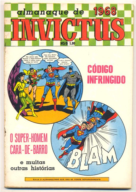 ALMANAQUE INVICTUS (BATMAN E SUPERMAN) 1968 - EBAL