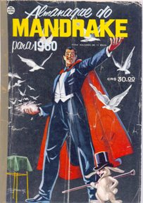 ALMANAQUE DO MANDRAKE DE 1960