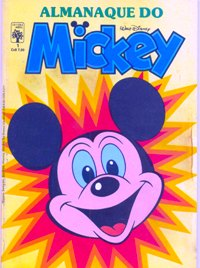 ALMANAQUE DO MICKEY - 1ª SÉRIE nº01 - EDITORA ABRIL