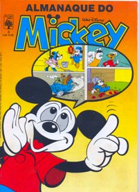 ALMANAQUE DO MICKEY - 1ª SÉRIE nº03 - EDITORA ABRIL