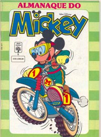 ALMANAQUE DO MICKEY - 1ª SÉRIE nº05 - EDITORA ABRIL