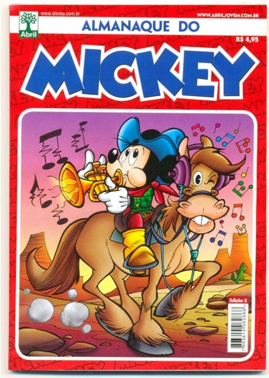 ALMANAQUE DO MICKEY - 2ª SÉRIE nº05 - EDITORA ABRIL