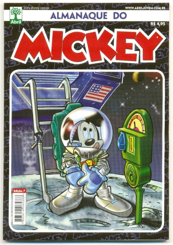 ALMANAQUE DO MICKEY - 2ª SÉRIE nº07 - EDITORA ABRIL