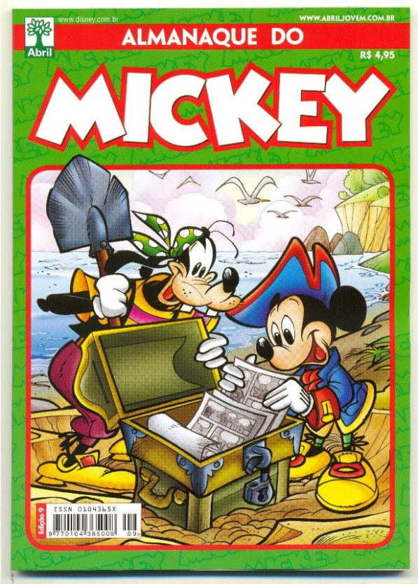 ALMANAQUE DO MICKEY - 2ª SÉRIE nº09 - EDITORA ABRIL
