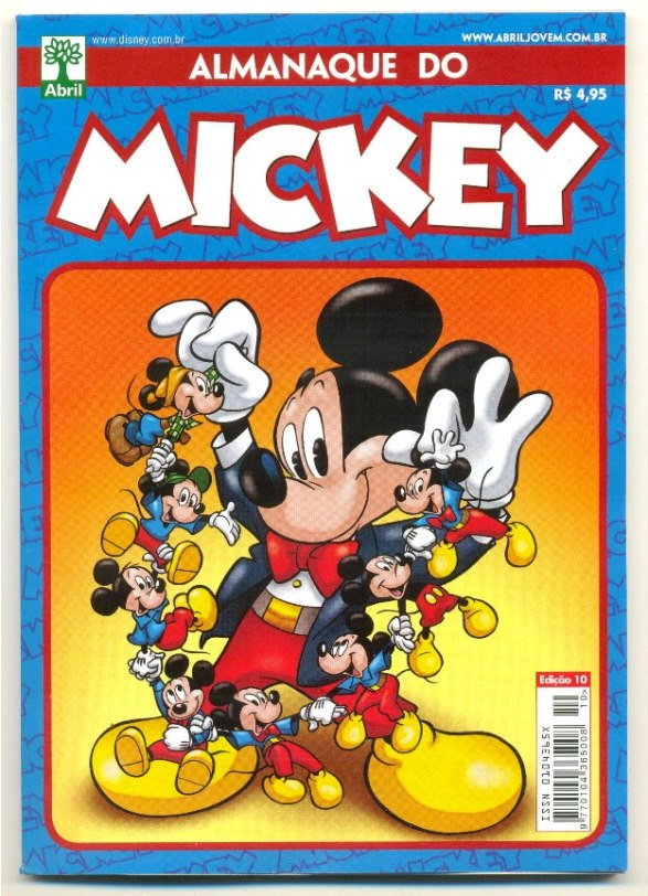 ALMANAQUE DO MICKEY - 2ª SÉRIE nº10 - EDITORA ABRIL