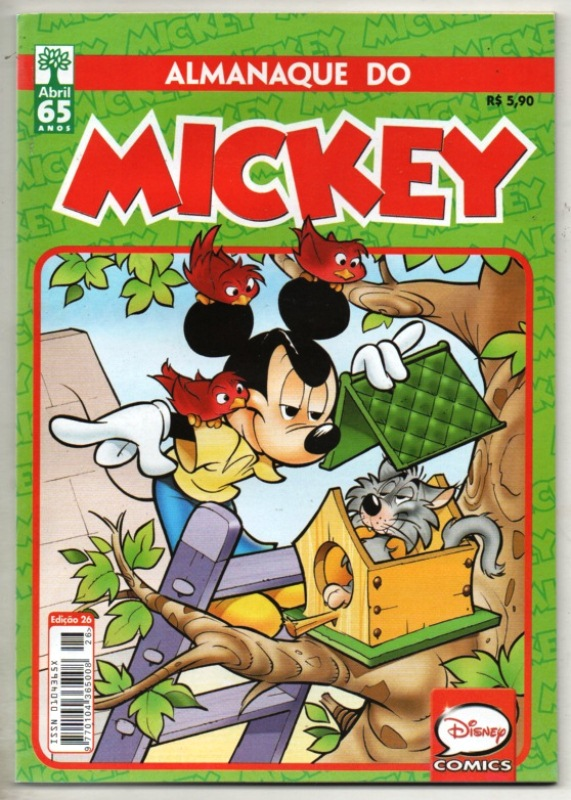 ALMANAQUE DO MICKEY - 2ª SÉRIE nº26 - EDITORA ABRIL