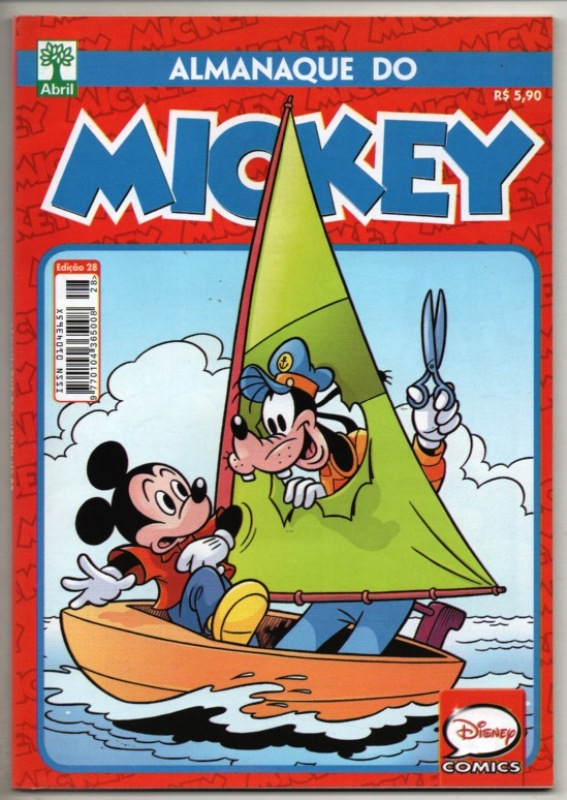 ALMANAQUE DO MICKEY - 2ª SÉRIE nº28 - EDITORA ABRIL