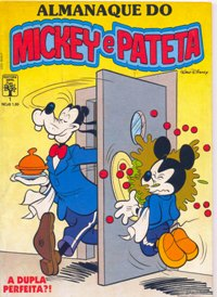 ALMANAQUE DO MICKEY e PATETA n°01 - EDITORA ABRIL