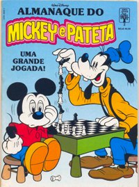 ALMANAQUE DO MICKEY e PATETA n°02 - EDITORA ABRIL