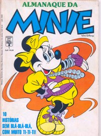 ALMANAQUE DA MINNIE nº01 - EDITORA ABRIL