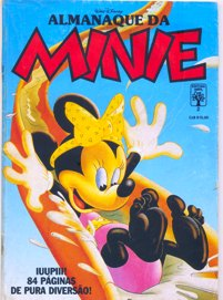 ALMANAQUE DA MINNIE nº02 - EDITORA ABRIL