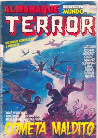 ALMANAQUE MUNDO DO TERROR nº01 - EDITORA PRESS