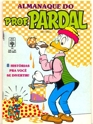ALMANAQUE DO PROFESSOR PARDAL nº10 - EDITORA ABRIL