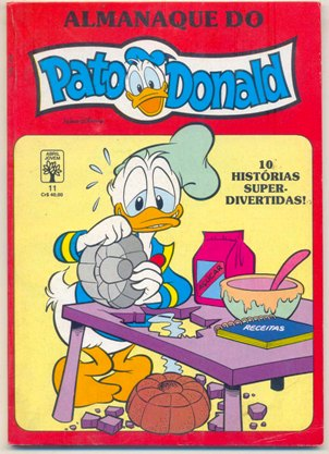 ALMANAQUE DO PATO DONALD - 1ª SÉRIE  nº11 - ED. ABRIL