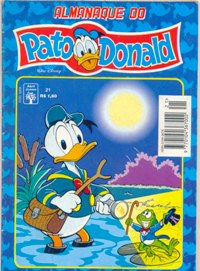 ALMANAQUE DO PATO DONALD - 1ª SÉRIE  nº21 - ED. ABRIL