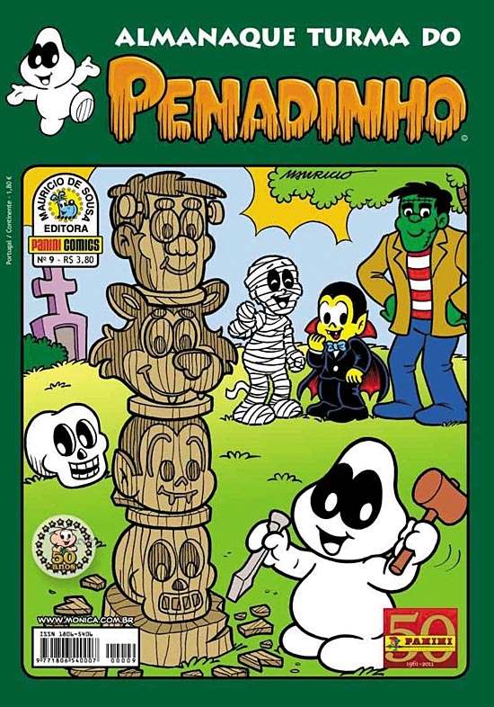 ALMANAQUE TURMA DO PENADINHO n°09 - EDITORA PANINI