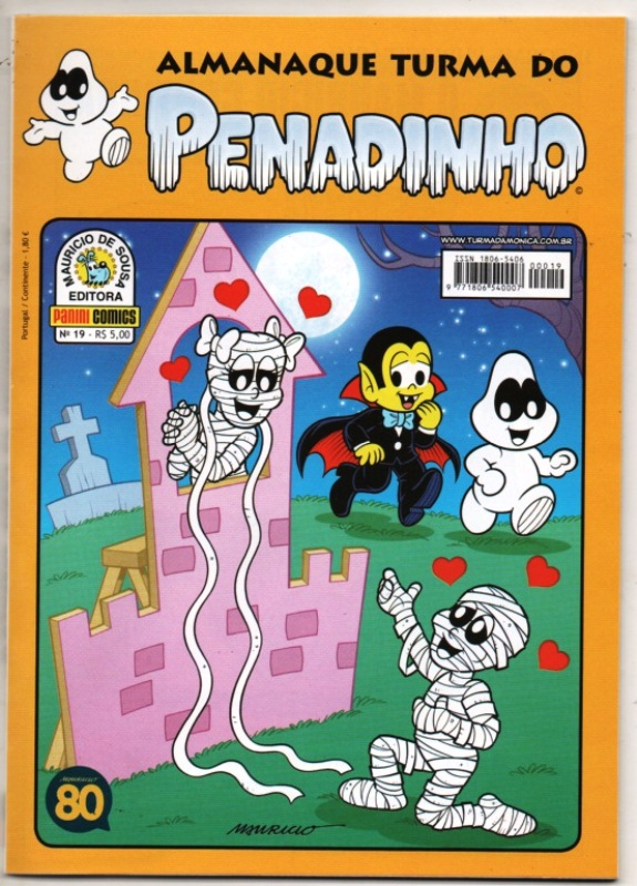 ALMANAQUE TURMA DO PENADINHO n°19 - EDITORA PANINI