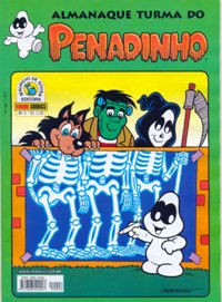 ALMANAQUE TURMA DO PENADINHO n°03 - EDITORA PANINI